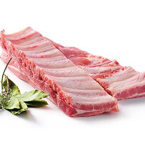 Costilla de cerdo fresca
