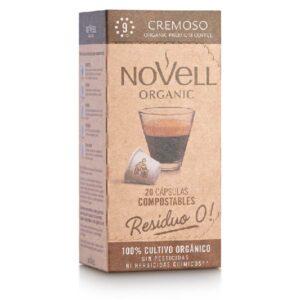 Café molido cremoso NOVELL